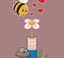 Bee in love by enriquev242