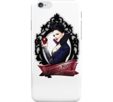 Mirror, Mirror- Regina (Evil Queen)- OUAT iPhone Case/Skin