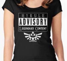ADVISORY - LEGENDARY Women's Fitted Scoop T-Shirt