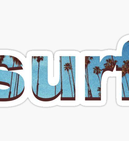 surf simple Sticker
