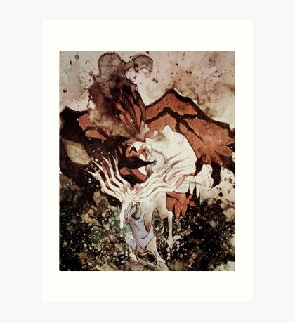 Xerneas & Yveltal Art Print