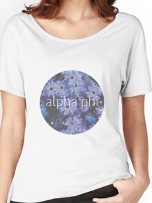 Alpha Phi Women's Relaxed Fit T-Shirt