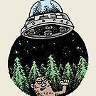 Yeti Has UFO Troubles by Anthony Woodward