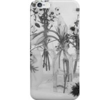 Four Bottles And Their Flowers iPhone Case/Skin