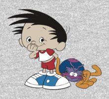 Bobby's World - Bobby & Webbly color One Piece - Long Sleeve