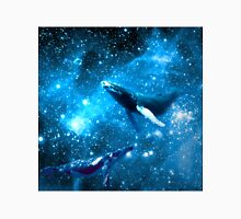 Space Whales and Scubba Diver Unisex T-Shirt