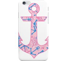 Delta Gamma Anchor iPhone Case/Skin