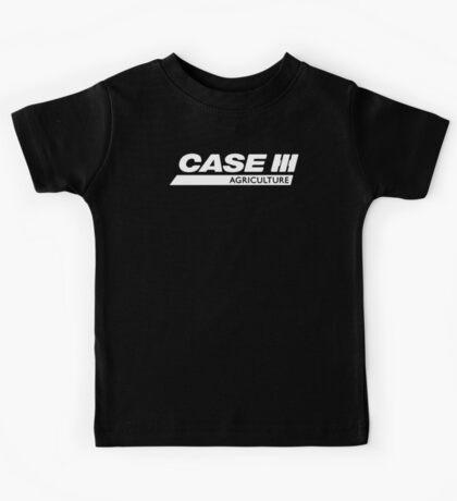 Case IH Agriculture Black Logo Kids Tee