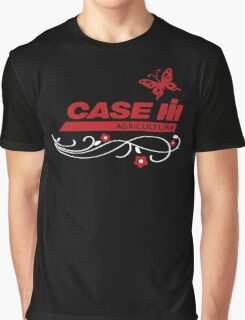 Case IH Farm BUTTERFLY Graphic T-Shirt