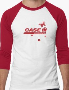 Case IH Farm BUTTERFLY Men's Baseball ¾ T-Shirt