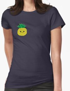 Cute Pineapple Womens Fitted T-Shirt