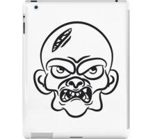 zombie funny comic head iPad Case/Skin