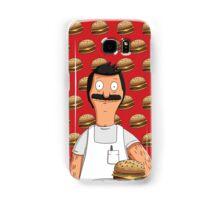 Bob Belcher Burger Pattern Red Samsung Galaxy Case/Skin