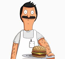 Bob Belcher Burger Pattern Red Unisex T-Shirt