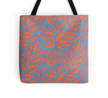 Sketchy Leaves Tote Bag