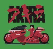 Akira Pixelart Kids Clothes