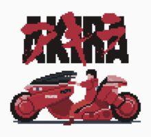 Akira Pixelart Kids Tee