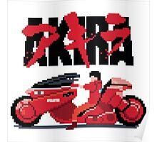 Akira Pixelart Poster