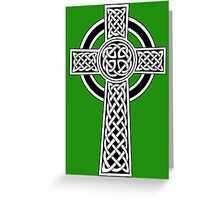 Irish Cross Greeting Card