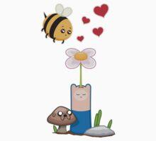 Bee in love One Piece - Short Sleeve