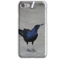 Guess Who Came to Breakfast? iPhone Case/Skin
