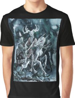 Arawn The Horned King Graphic T-Shirt