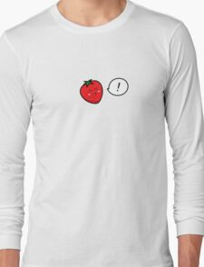 Happy Strawberry - two lof bees Long Sleeve T-Shirt
