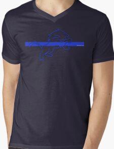 blueline LEO tshirt Mens V-Neck T-Shirt