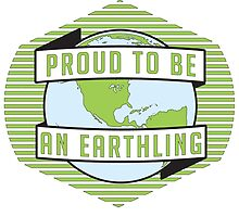 Proud to be an Earthling by njerdz