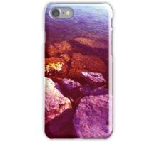 Pink Candy Rock Beach iPhone Case/Skin