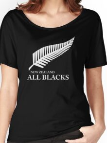 Kiwi All Blacks New Zealand Women's Relaxed Fit T-Shirt