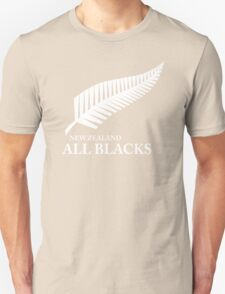 Kiwi All Blacks New Zealand Unisex T-Shirt