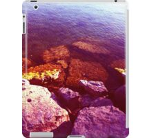 Pink Candy Rock Beach iPad Case/Skin