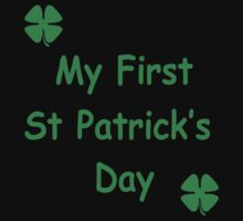 MY FIRST ST PATRICKS DAY One Piece - Short Sleeve