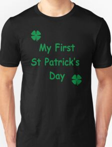 MY FIRST ST PATRICKS DAY T-Shirt
