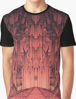 The Gates of Barad Dûr Graphic T-Shirt