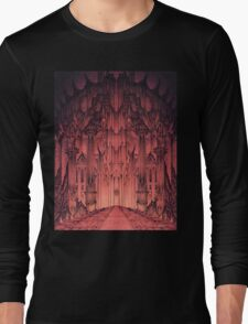 The Gates of Barad Dûr Long Sleeve T-Shirt