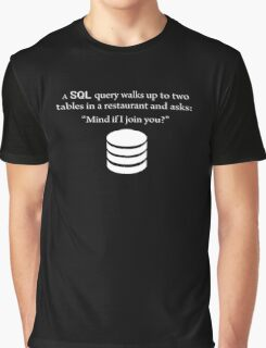 SQL Query Funny Graphic T-Shirt