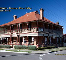 CBC Bed & Breakfast & Cafe (1902), Paterson, NSW Australia by SNPenfold