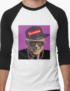 Bernie = Yung Political Genius Men's Baseball ¾ T-Shirt