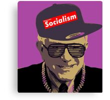 Bernie = Yung Political Genius Canvas Print