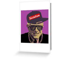 Bernie = Yung Political Genius Greeting Card