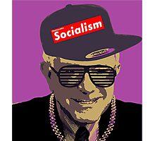 Bernie = Yung Political Genius Photographic Print
