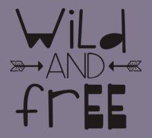 WILD AND FREE Kids Tee