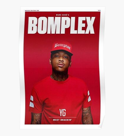 YG Bomplex cover Poster