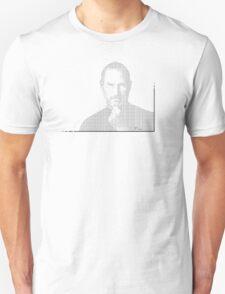 Steve Jobs: Binary Code Unisex T-Shirt