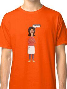 Linda Belcher Wine Pattern Purple Classic T-Shirt