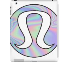 hologram logo iPad Case/Skin