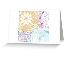 Abstract Colourful Design Greeting Card