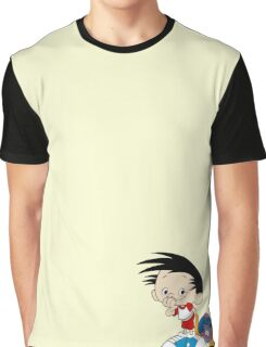 Bobby's World - Bobby & Webbly color Graphic T-Shirt